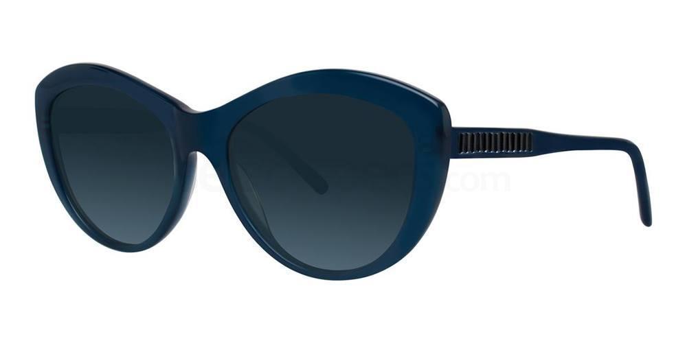 Blue AGNELLA Sunglasses, Vera Wang Luxe