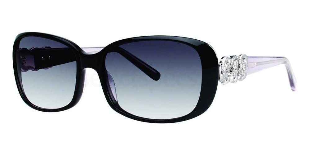 Black AIDIN Sunglasses, Vera Wang Luxe