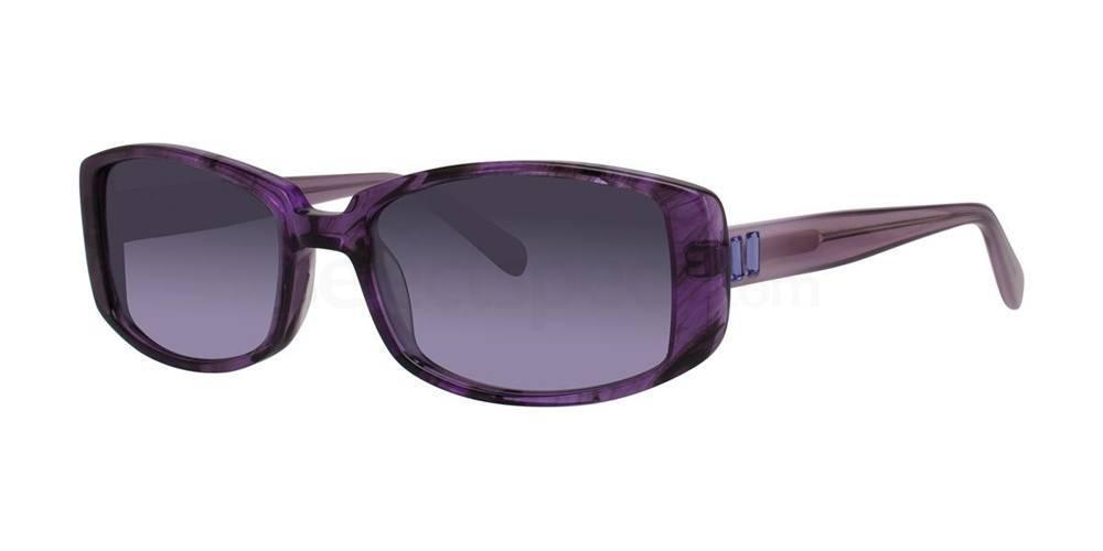 Amethyst Crystal CICILIA Sunglasses, Vera Wang Luxe