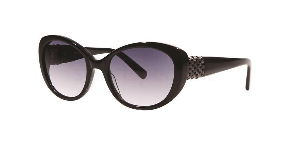 Black EUDORA Sunglasses, Vera Wang Luxe