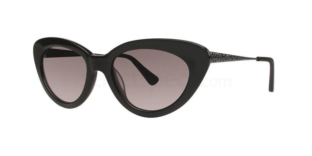 Black INDRA Sunglasses, Vera Wang Luxe