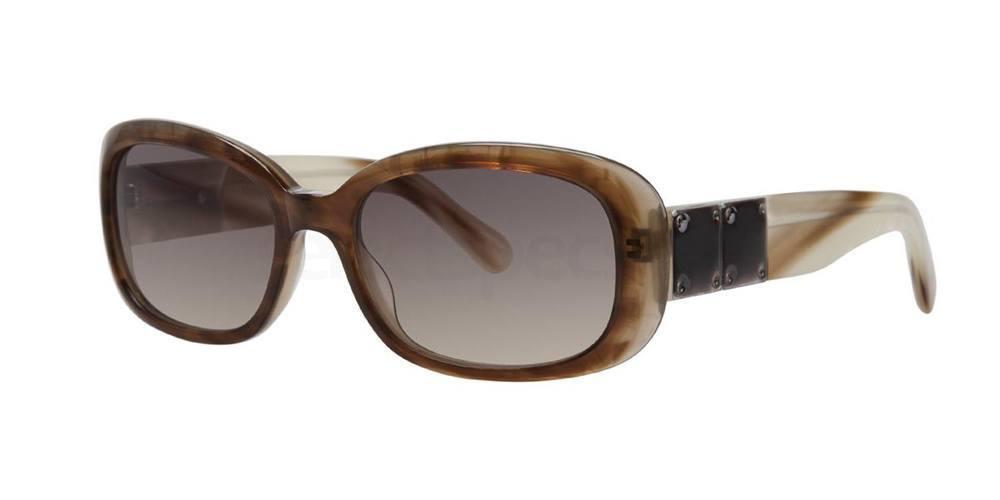 Sun Suede ISMENE Sunglasses, Vera Wang Luxe