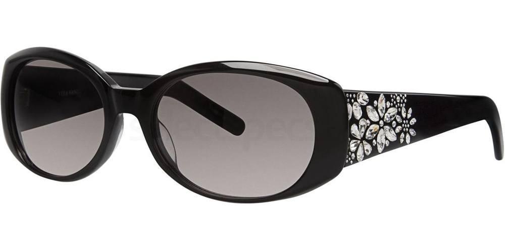 Black PERRINE Sunglasses, Vera Wang Luxe