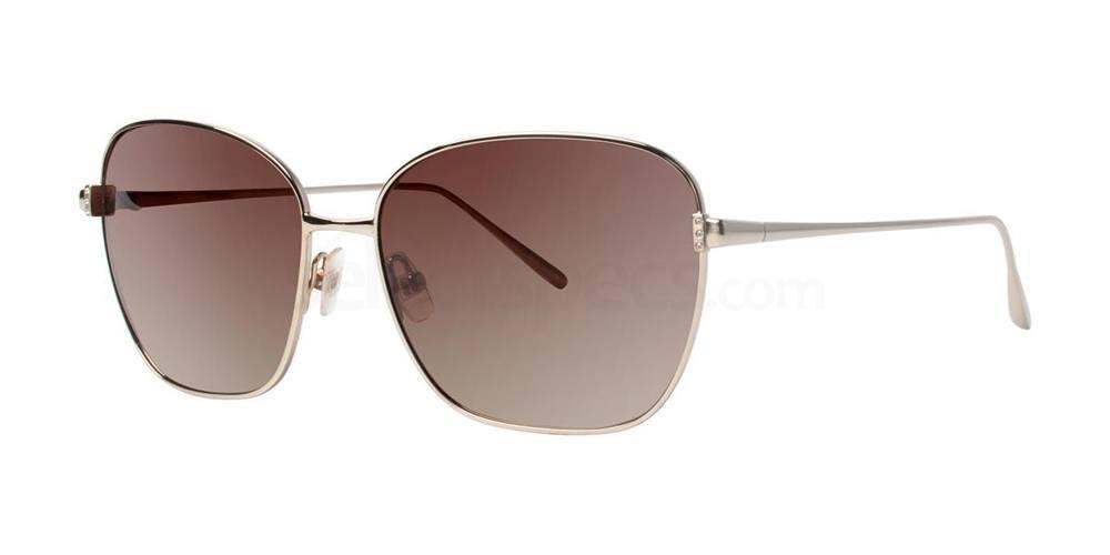 Gold LUCIOLE Sunglasses, Vera Wang Luxe