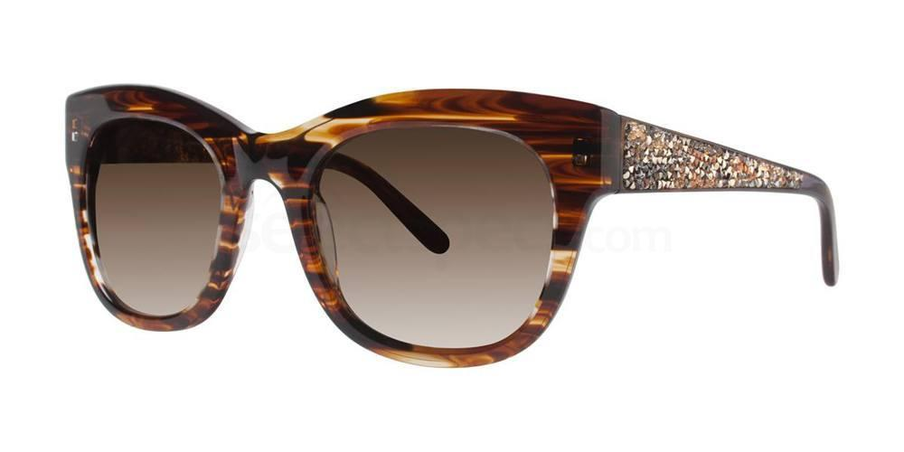Brown MEA Sunglasses, Vera Wang Luxe