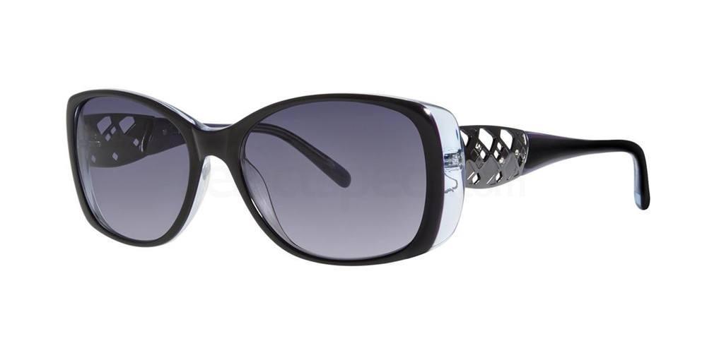 Black MERIEL Sunglasses, Vera Wang Luxe