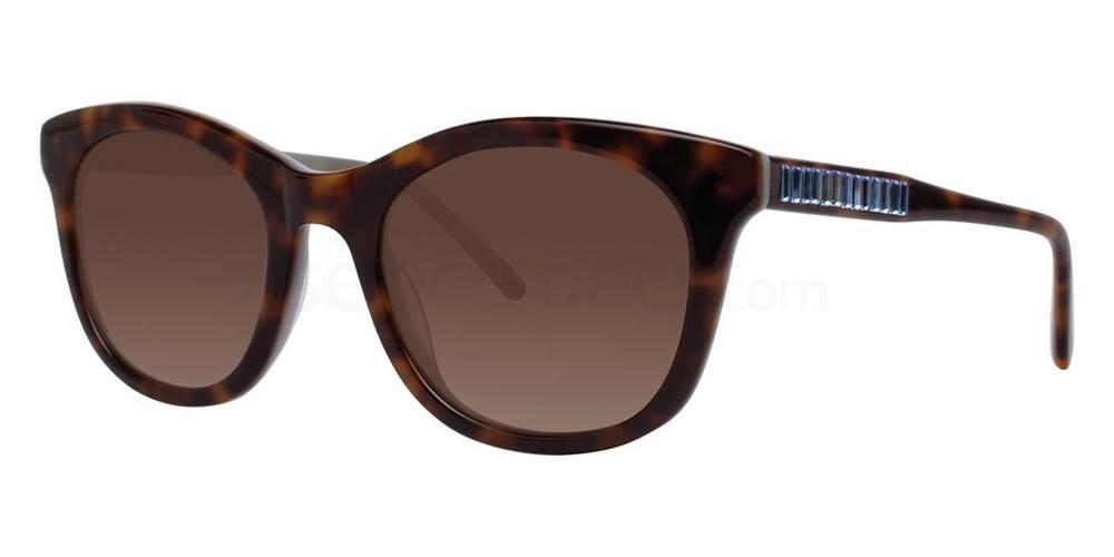 Tortoise NEZETTA Sunglasses, Vera Wang Luxe
