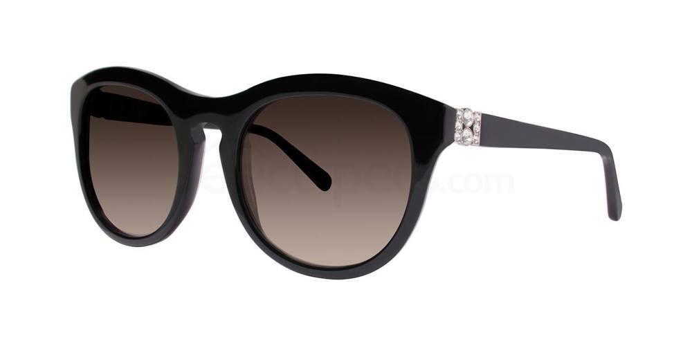 Black NURIA Sunglasses, Vera Wang Luxe
