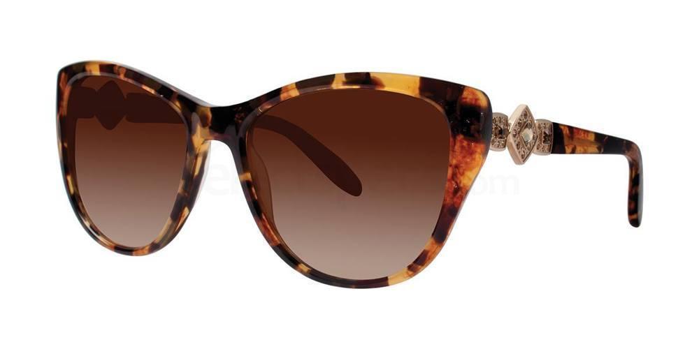 Gold Tortoise PANNA Sunglasses, Vera Wang Luxe