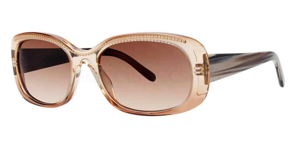 Brown PENUMBRA Sunglasses, Vera Wang Luxe