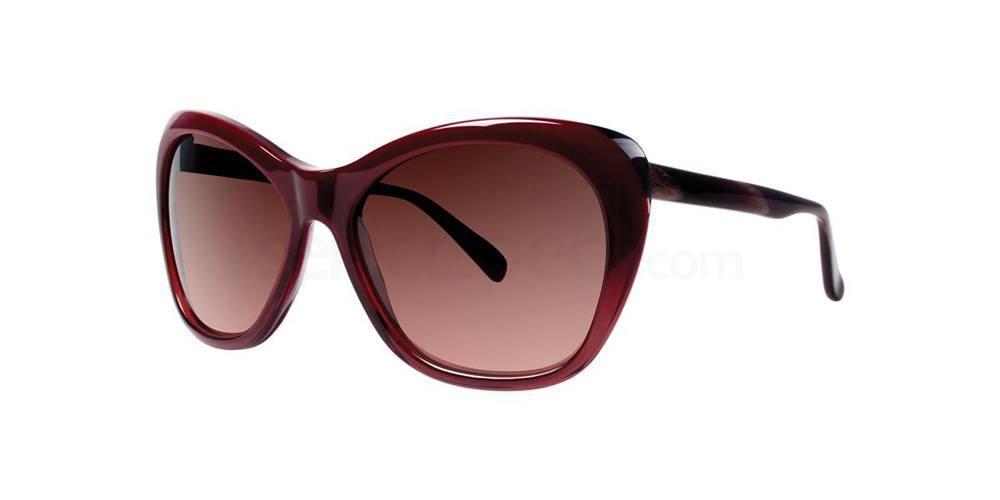 Burgundy ASUKA Sunglasses, Vera Wang Luxe