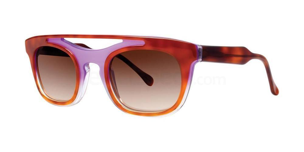 Lilac Tortoise AYA Sunglasses, Vera Wang Luxe