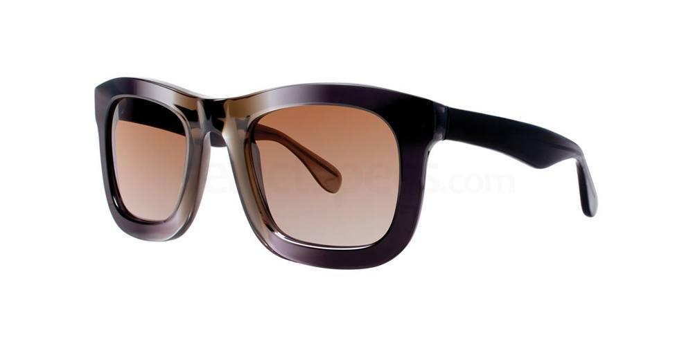 Black CRYSANTHE Sunglasses, Vera Wang Luxe