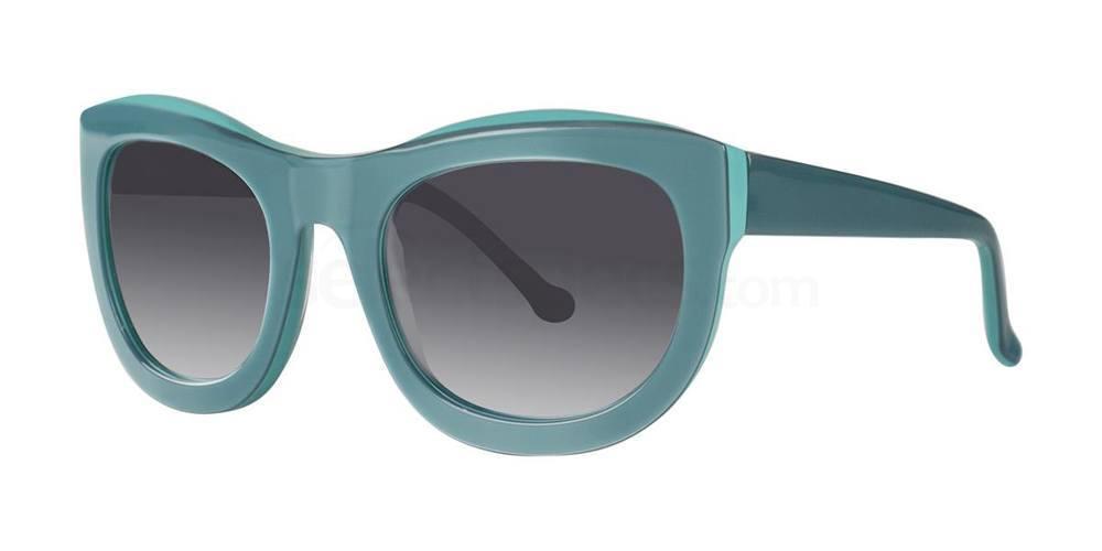 Acadian Green NARA Sunglasses, Vera Wang Luxe