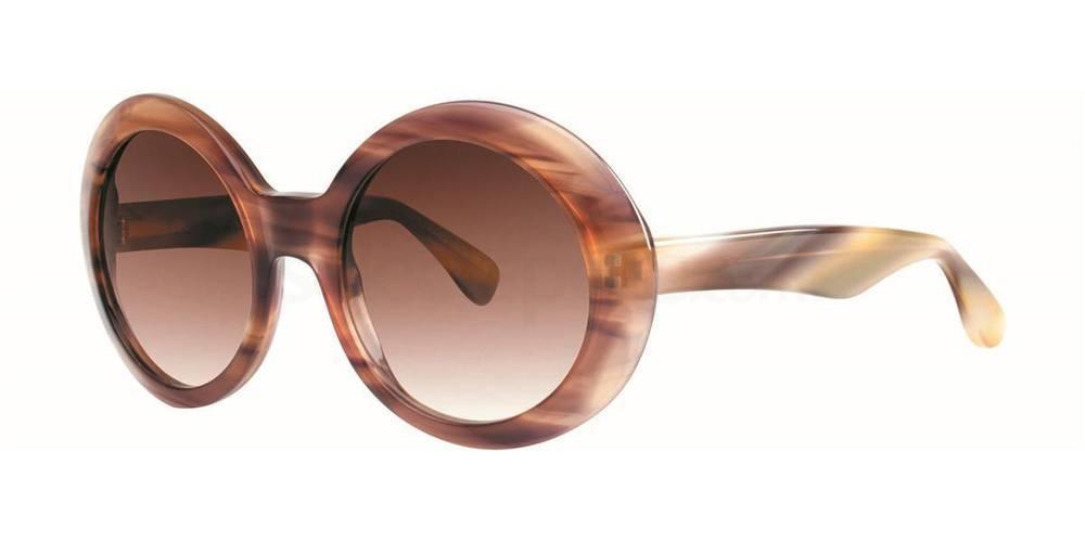 Chocolate RUBENA Sunglasses, Vera Wang Luxe