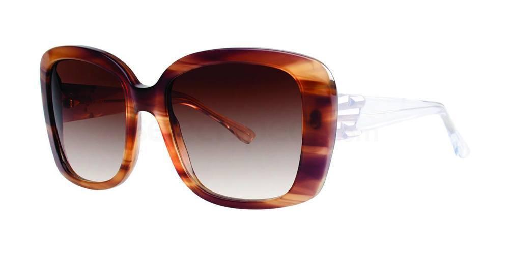 Chocolate SESILIA Sunglasses, Vera Wang Luxe