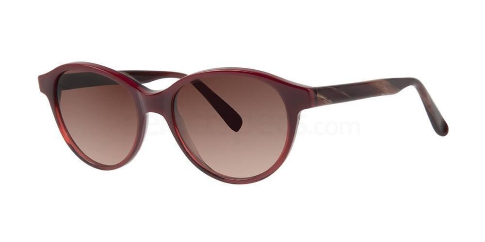 Crimson WENSICIA Sunglasses, Vera Wang Luxe