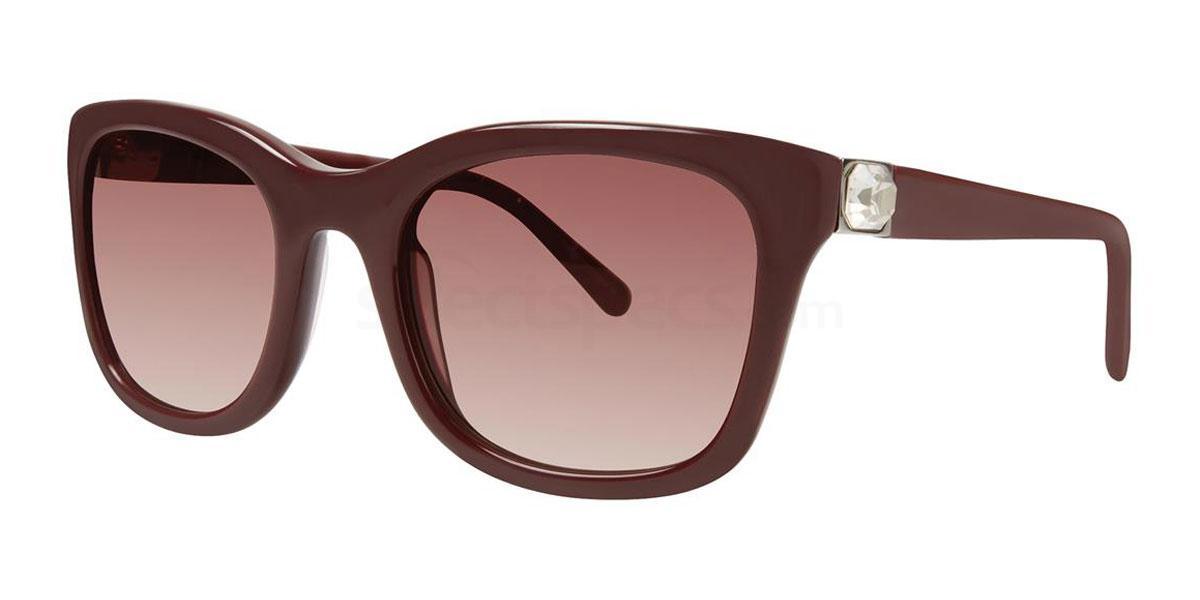 Berry Tortoise LIORA Sunglasses, Vera Wang Luxe