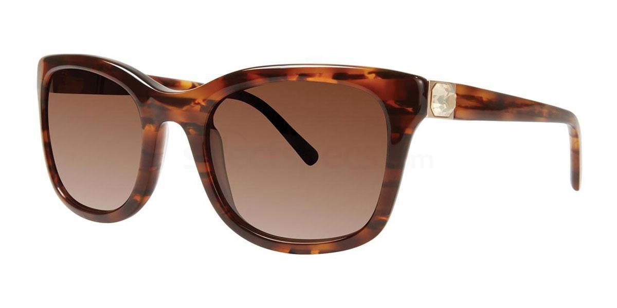 Tortoise LIORA Sunglasses, Vera Wang Luxe