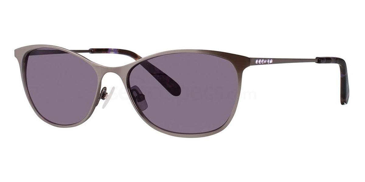 Charcoal YARA Sunglasses, Vera Wang Luxe