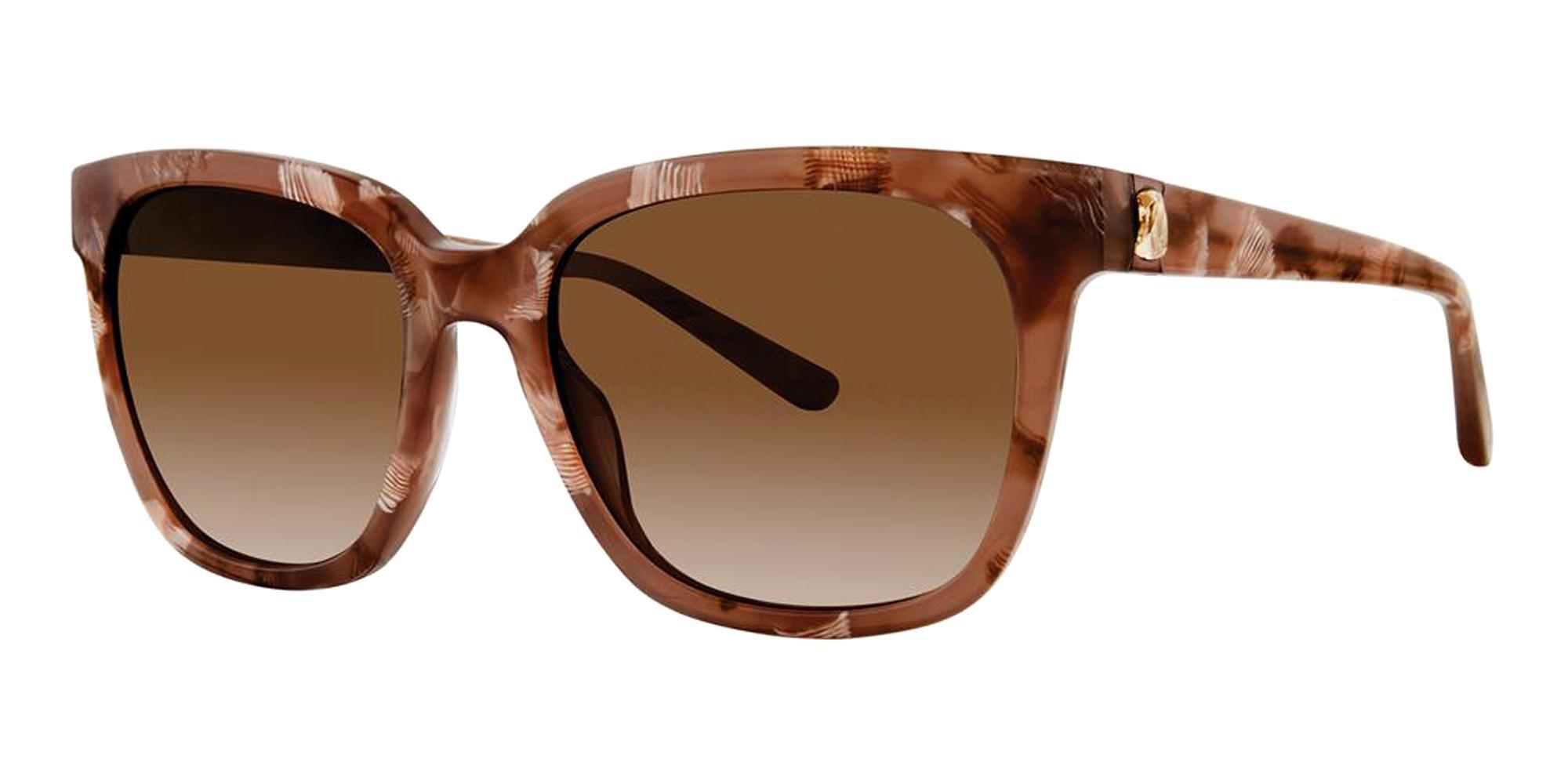 Caramel ELISA Sunglasses, Vera Wang Luxe