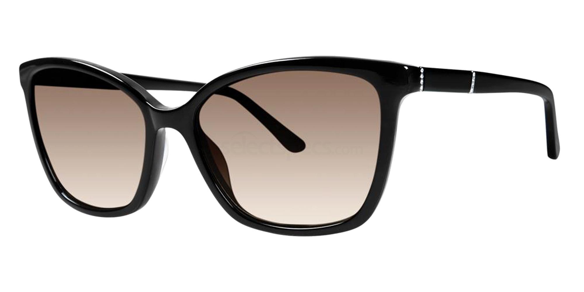 Black ZARINA Sunglasses, Vera Wang Luxe