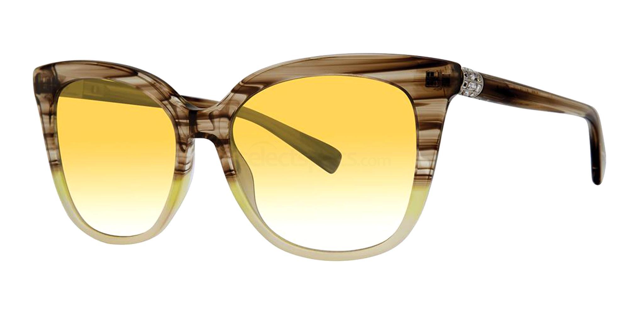 Lemon Fade TATIANA Sunglasses, Vera Wang Luxe