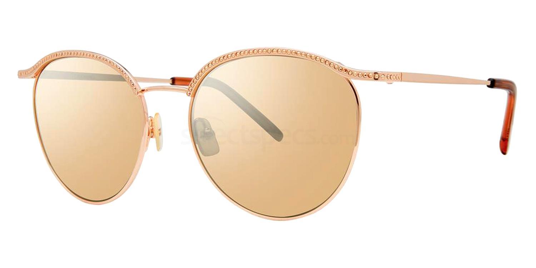 Crystal Rose Gold FELICIA Sunglasses, Vera Wang Luxe