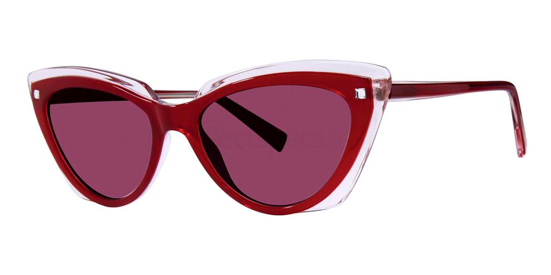 Berry Blush Crystal KATE ASHLEIGH Sunglasses, Vera Wang Luxe