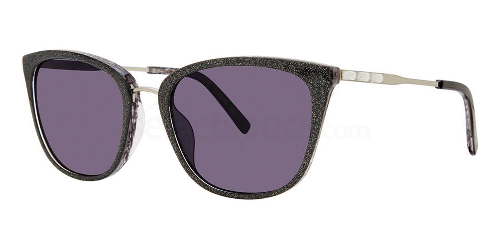 Black Shimmer ANGELICA Sunglasses, Vera Wang Luxe