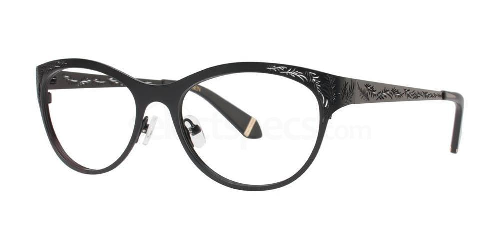 Black GAYLE Glasses, Zac Posen