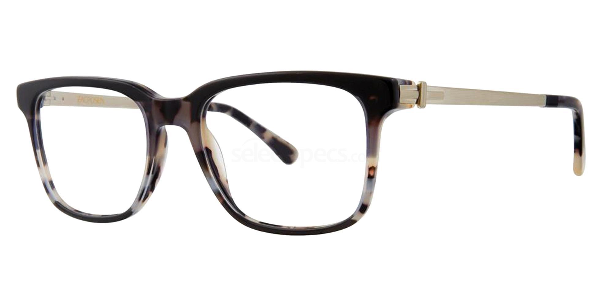 Charcoal Tortoise DENIRO Glasses, Zac Posen