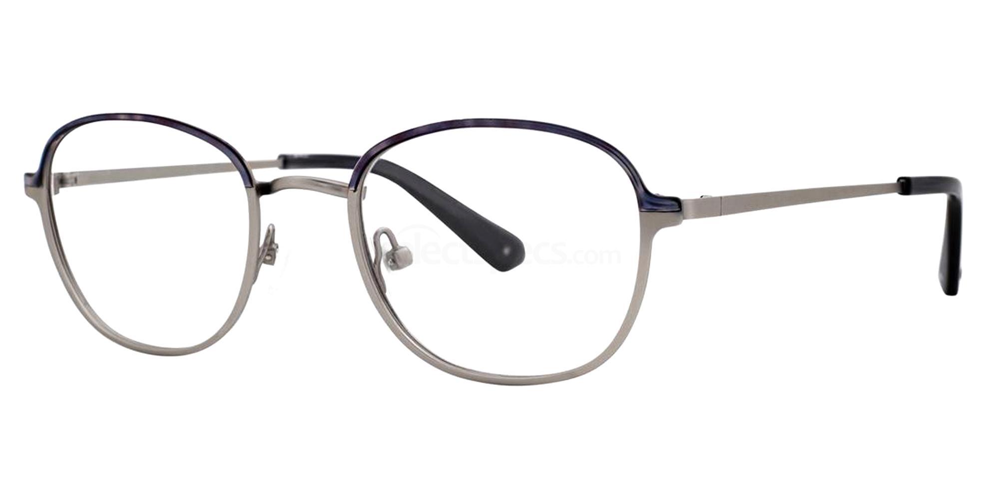 Steel FABIENE Glasses, Zac Posen