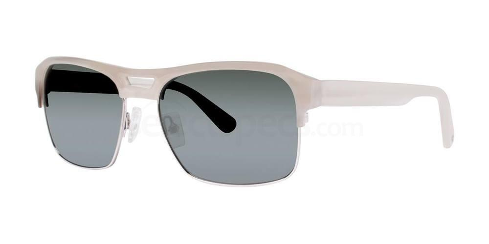 Taupe Horn BALDWIN Sunglasses, Zac Posen