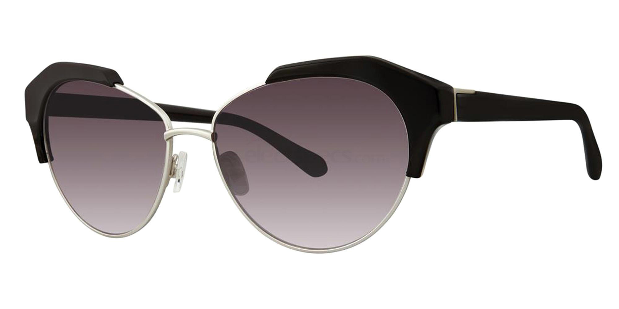 Black KEKE Sunglasses, Zac Posen