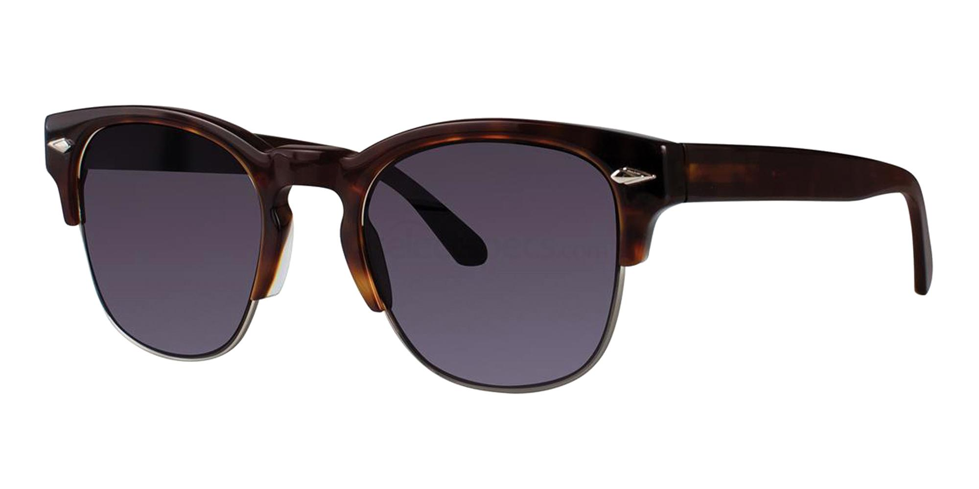 Black ASCOTT Sunglasses, Zac Posen