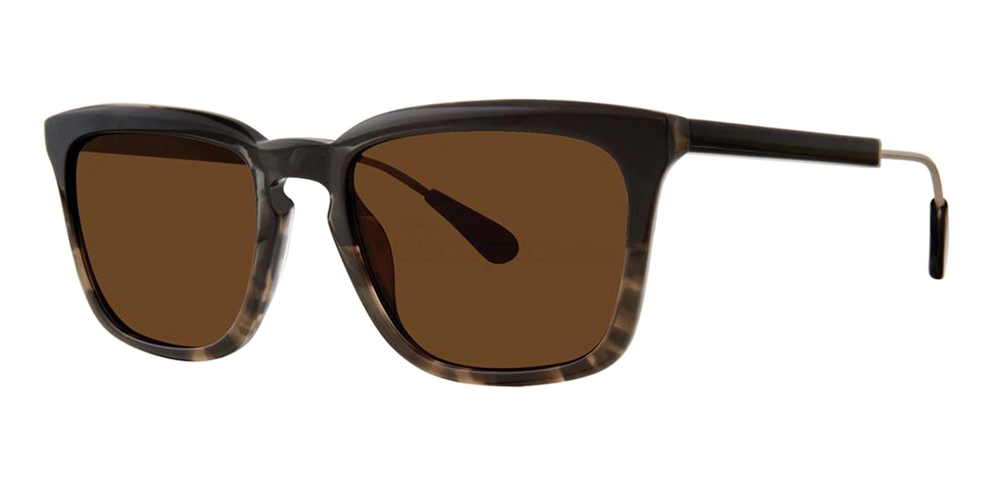 Ink Tortoise MILWOOD Sunglasses, Zac Posen