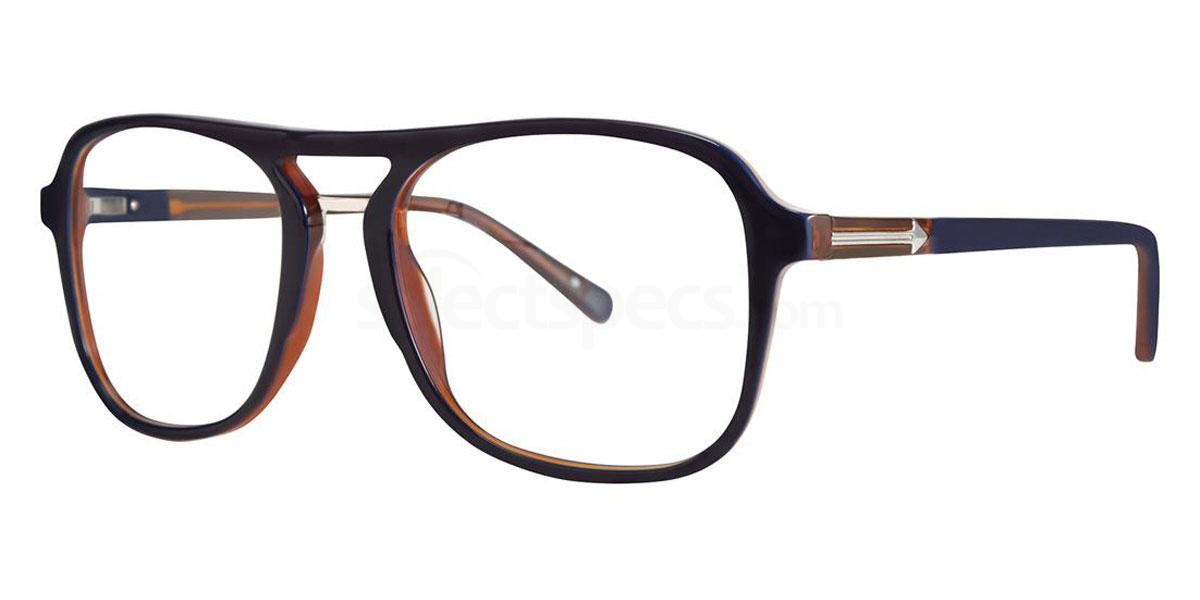 Dark Denim THE SHELDON RX Glasses, Original Penguin