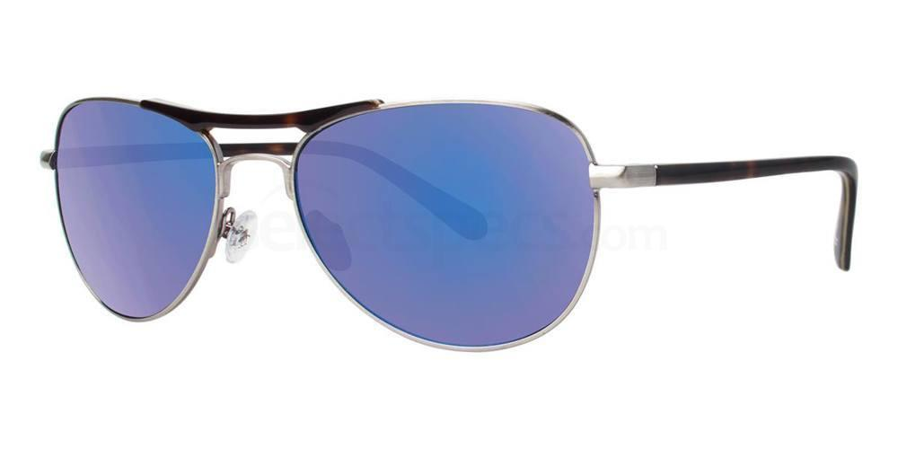 Silver THE CAMERON SUN Sunglasses, Original Penguin