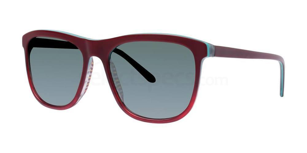 Biking Red THE HI TOP SUN Sunglasses, Original Penguin