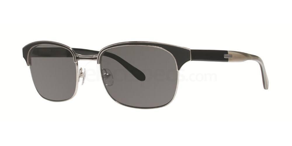 Black/Silver THE LUCK Sunglasses, Original Penguin