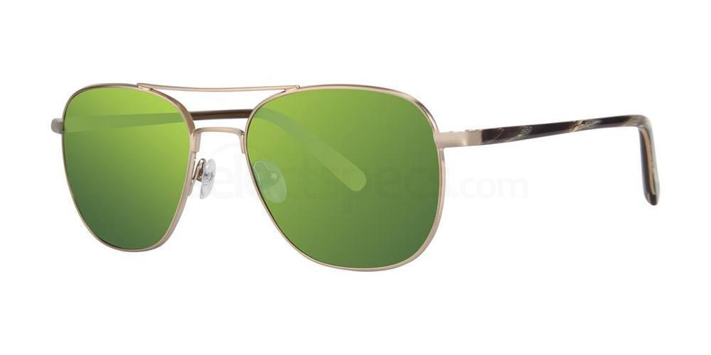 Gold THE METEOR MIRROR Sunglasses, Original Penguin