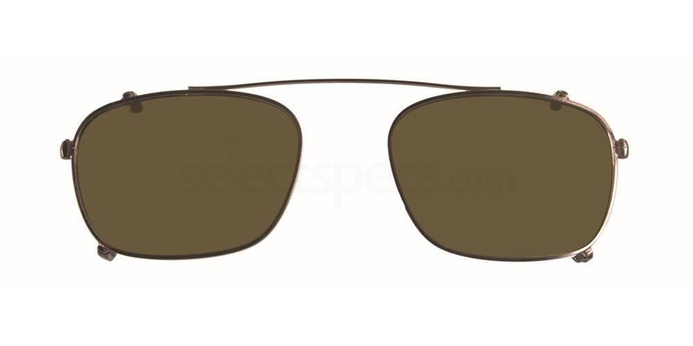 Gunmetal THE MULLIGAN CLIP Sunglasses, Original Penguin