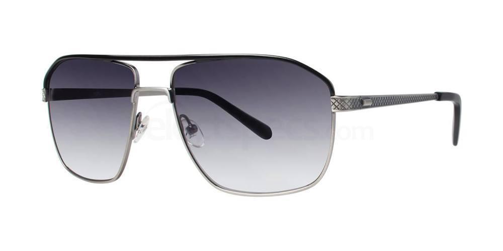 Black Silver THE OLLIE SUN Sunglasses, Original Penguin