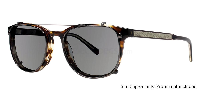 Gunmetal THE TETER CLIP Sunglasses, Original Penguin