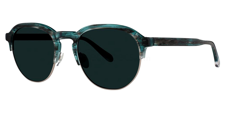 Faded Denim THE TWO-BIT Sunglasses, Original Penguin