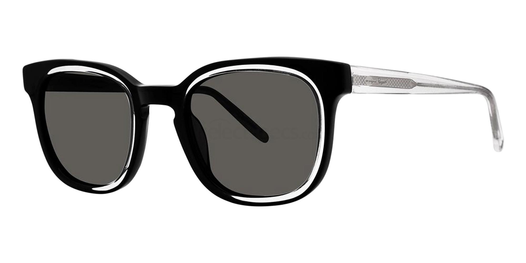 Black THE SUSPENDER Sunglasses, Original Penguin