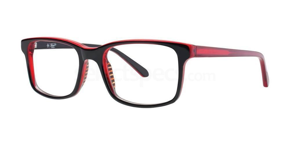 Black THE HAYES JR Glasses, Original Penguin Youth