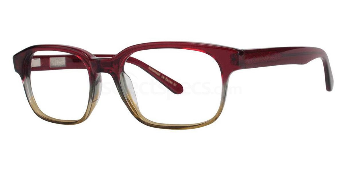 Pomegranate THE CURTIS JR Glasses, Original Penguin Youth