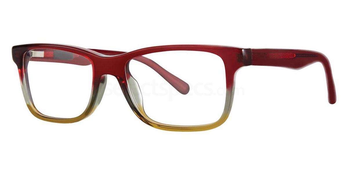 Pomegranate THE WEBLO JR Glasses, Original Penguin Youth